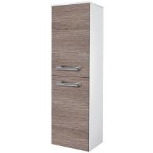 EDEN JANTAR skříňka 390x1370x320mm, střední, závěsná, pravá, koš, bílá lesk/bílá lesk