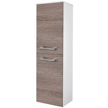 EDEN JANTAR skříňka 390x1370x320mm, střední, závěsná, levá, koš, bílá lesk/bílá lesk