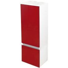 EDEN GRANÁT skříňka 390x1370x320mm, polovysoká, závěsná, pravá, lak bílá lesk/lesk zingana