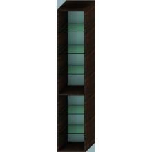 JIKA CUBITO korpus vysoké skříňky 320x300x1600mm, 5 skleněných poliček, wenge