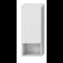 JIKA LYRA skříňka 320x132mm, střední, mělká, pravé dveře, bílá/bílá