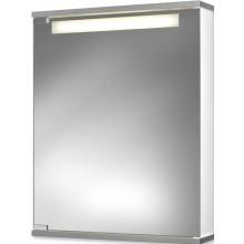 JOKEY CENTO 50 LS zrcadlová skříňka 500x650mm, s osvětlením, bílá/hliník