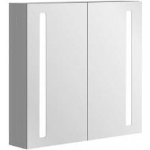 VILLEROY & BOCH VERITY LINE zrcadlová skříňka 800x173x750mm, s osvětlením, hliník