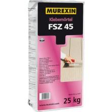 MUREXIN FSZ 45 malta lepící 25kg, vodovzdorná, mrazuvzdorná, pro tenkovrstvé lepení obkladů a dlažeb