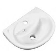 IDEAL STANDARD EUROVIT umývátko 400x295mm s otvorem, bílá R420601