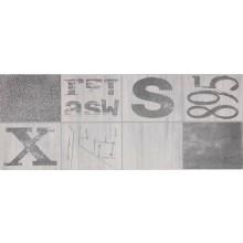 DAYTONA AMBIENT dekor 20x50cm, graffiti gris