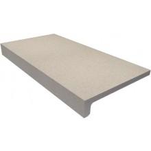 RAKO TAURUS GRANIT balkónová tvarovka 30x15cm, okapnice, tmavě šedá