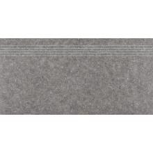 RAKO ROCK schodovka 30x60cm, šedá