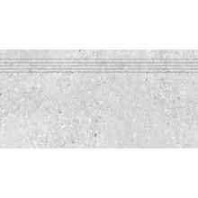 RAKO STONES schodovka 30x60cm, mat, světle šedá