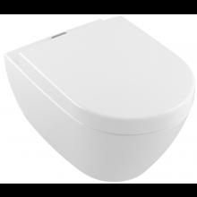 VILLEROY & BOCH SUBWAY 2.0 závěsný klozet 370x560mm, s hlubokým splachováním, Bílá Alpin