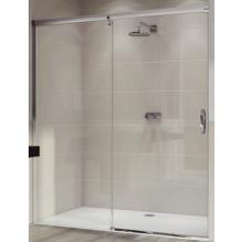 Zástěna sprchová dveře Huppe sklo Aura elegance 1200x2000 mm stříbrná matná/Sand Plus AP