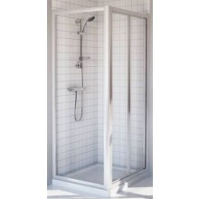 Zástěna sprchová dveře Ideal Standard plast Tipica PS 80x185cm silver brill/sintetico matt
