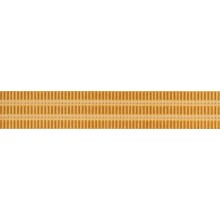 RAKO REMIX listela 25x4,3cm, oranžová