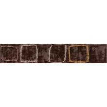 RAKO CONCEPT MONOPOLI listela 25x4,5cm, lesk, hnědá