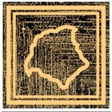 VERSACE ETERNO ANGOLO MEDUSA listela 10x10cm, oro