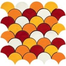 IMOLA SHADES mozaika 30x30cm, orange