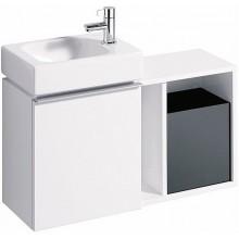 KERAMAG ICON XS postranní prvek 37x40x24,5cm, závěsný, bílá matná 841137000
