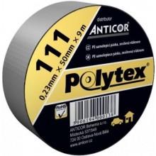 ANTICOR POLYTEX 111 páska 48mm, 50m plynotěsná, vodotěsná, voděodolná, šedostříbrná