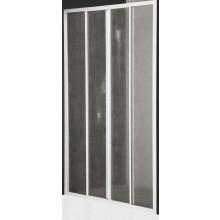 ROLTECHNIK CLASSIC LINE CD4/1200 sprchové dveře 1200x1836mm posuvné pro instalaci do niky, bílá/chinchilla