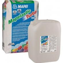 MAPEI MAPELASTIC TURBO cementová malta 20kg, dvousložková, pružná, složka A, hnědá
