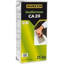 MUREXIN CA 20 nivelační hmota 25 kg, samozabíhavá, na bázi kalciumsulfátu, na anhydrit
