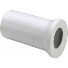 VIEGA 3815 připojovací trubka DN100 pro WC, PP, alpská bílá