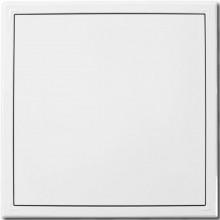 HACO RDK 150x150 TZ revizní dvířka 184,5x27x184,5mm, s tlačným zámkem, ocel, bílá