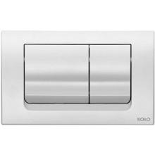 KOLO SLIM ovládací tlačítko 24,6x16cm pro instalační modul KOLO Slim, 3/6 l, bílé 94130001
