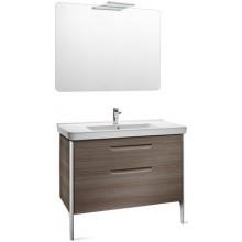 ROCA PACK DAMA nábytková sestava 850x460x645mm skříňka s umyvadlem a zrcadlem s osvětlením bílá 7855810576