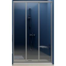 Zástěna sprchová dveře Ravak sklo ASDP3 130 bílá/grape