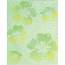RAKO CANDY dekor 20x25cm světlo zelená s květy WITGW653
