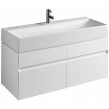 Nábytek skříňka pod umyvadlo Kolo Quattro 118x49,4x47,3cm bílá lesklá
