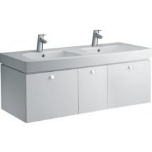 Umyvadlo klasické Ideal Standard s otvorem Ventuno dvojumyvadlo 130x54 cm bílá