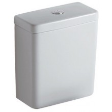 Nádržka keramická - s armaturou dvoupolohovou Concept Cube  bílá E785901