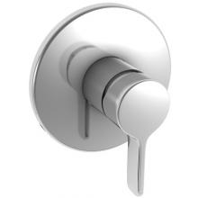 Baterie sprchová Laufen podomítková páková Curveprime  chrom
