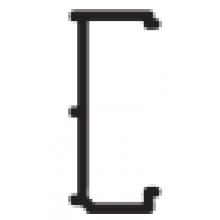 HÜPPE CLASSICS ELEGANCE profil 15mm rozšiřovací, bílá 119100.055
