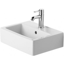 Umývátko klasické Duravit s otvorem Vero 45x35 cm bílá