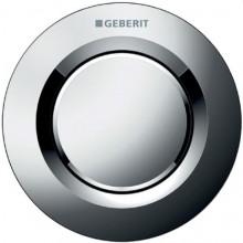 GEBERIT TYP 01 dálkové ovládání 9,4cm, pneumatické, pro 1 množství splachování, tlačítko pod omítku, lesk chrom