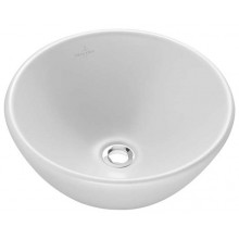 Umývátko klasické Villeroy & Boch bez otvoru Loop & Friends 43 cm manhattan+ceramicplus