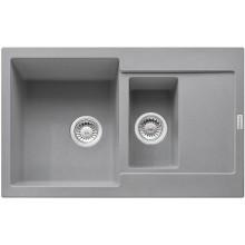 FRANKE MARIS MRG 651-78 dřez 780x500mm, fragranit, šedý kámen