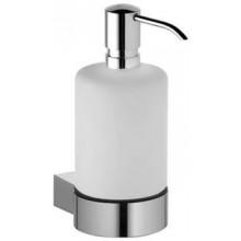 KEUCO PLAN dávkovač 250ml, na tekuté mýdlo, s držákem, chrom/sklo
