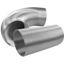 HACO AL FLEXO 125/1m potrubí 122/1000mm, hliník