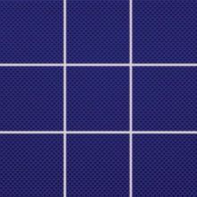 RAKO COLOR TWO mozaika 10x10cm, lepená na síťce, tmavě modrá