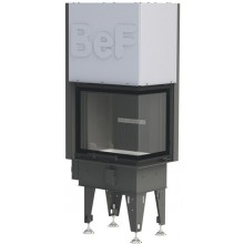 BEF HOME FLAT V 6 CP krbová vložka 3-6kW černá