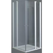 Zástěna sprchová dveře Roltechnik sklo TDOP1/1000-04-02 1000x2000 mm bílá/transparent