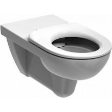 KERAMAG RENOVA NR. 1 klozet závěsný 35,5x70cm, s hlubokým splachováním, 4,5/6l, bez splachovacího kruhu, bílá/Keratect 208570600