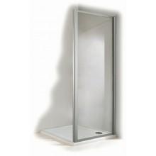 Zástěna sprchová boční - sklo Concept 100 800x1900mm stříbrná/sklo čiré