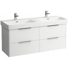 LAUFEN BASE skříňka pod umyvadlo 1258x438x515mm, 4 zásuvky, bílá lesk