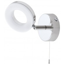 EGLO GONARO nástěnné svítidlo, 1x3,8W, led, bílá/chrom