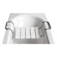 ROLTECHNIK WHITE sedátko 320x(720-860)mm do vany, bílá